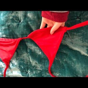 ark swimwear Swim - NWOT Red Mini Bikini Top